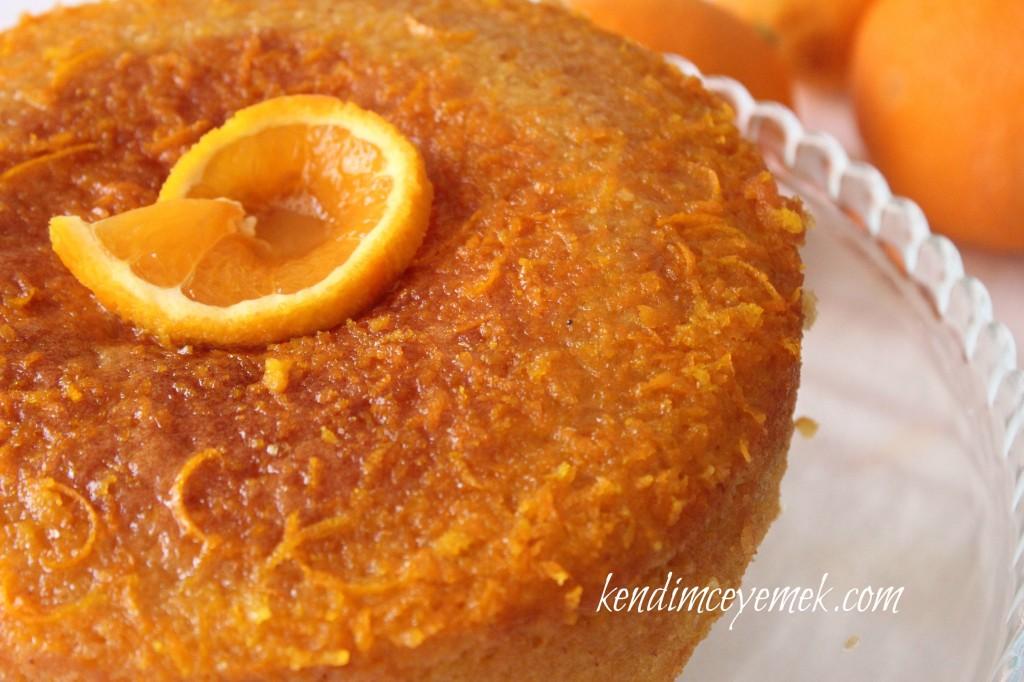 Badem Unlu Portakallı Tatlı