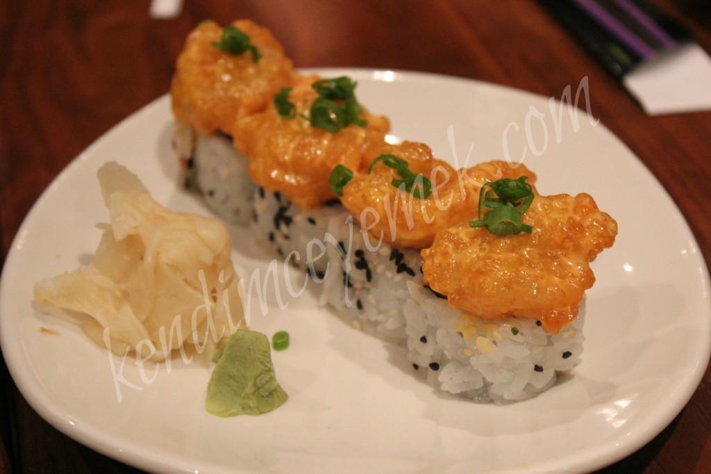 Sushi a la P.F. Chang's ile Tanıştım