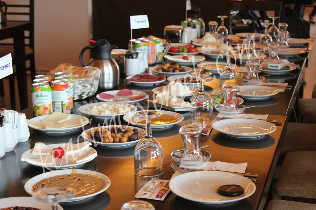 PepsiCo Hasatta Kayseri'de Kahvaltı