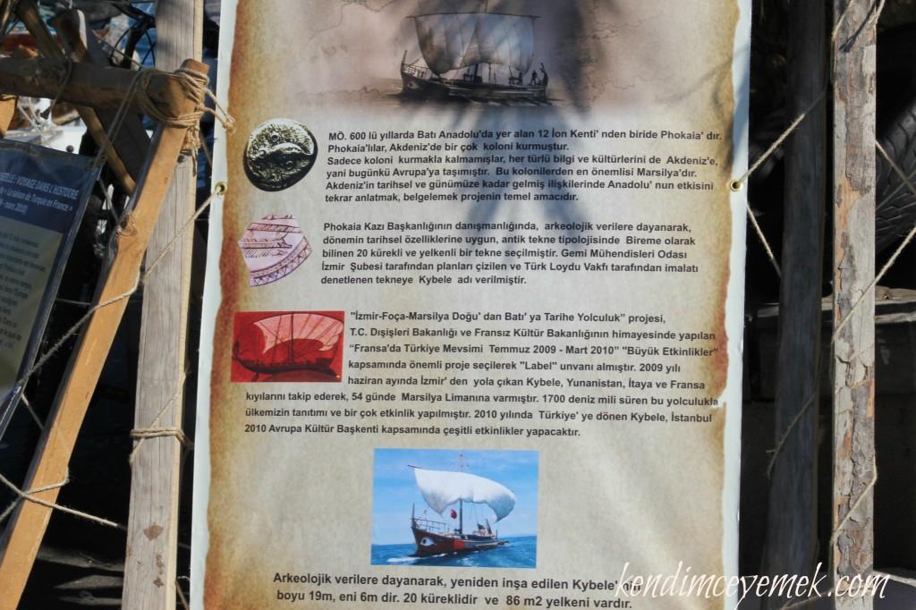 Marsilya'ya Giden Geminin Tarihi