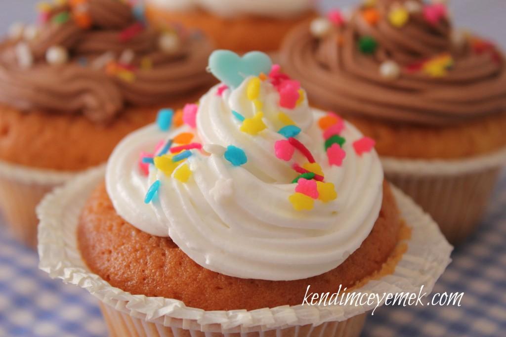 Kremalı Cup Cake