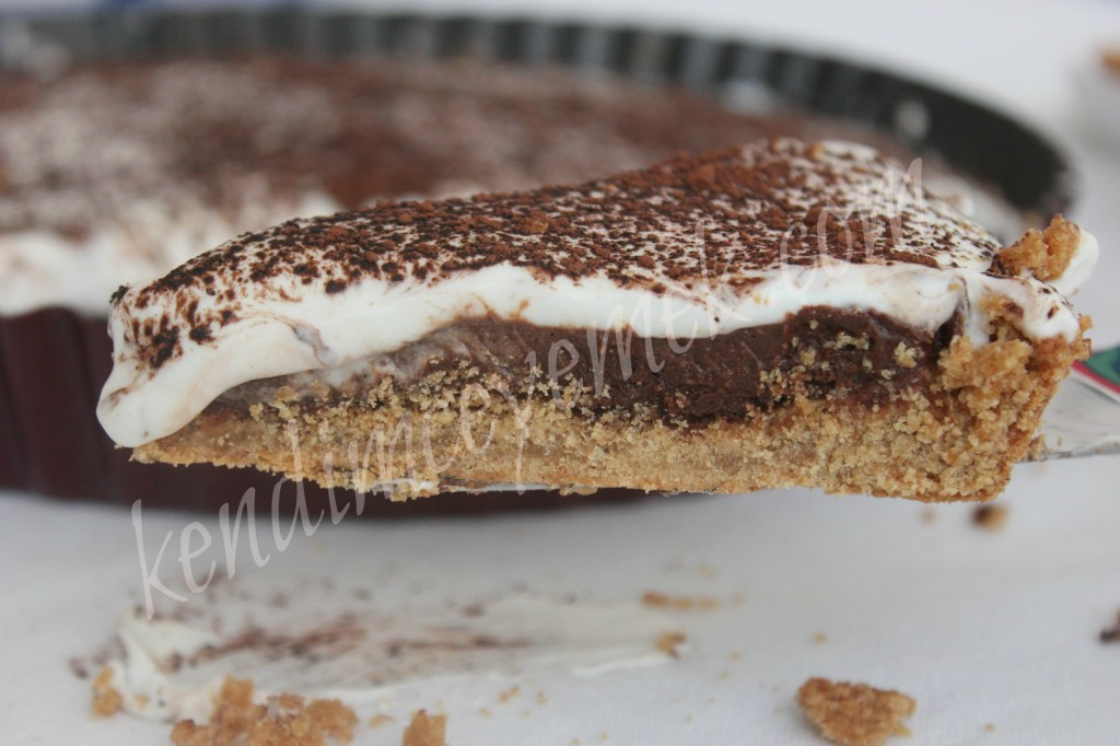 Çikolatalı Muslu Tart